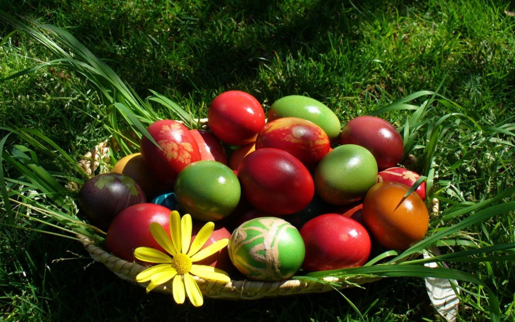 Colourful-Easter-Eggs